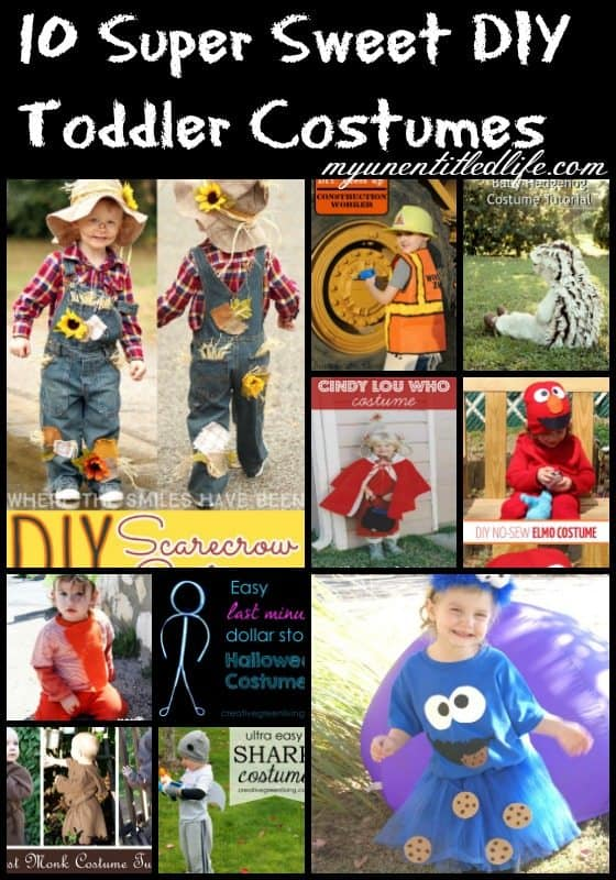 diy toddler costumes