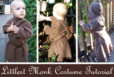toddler monk costume