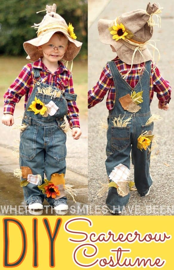 toddler scarecrow