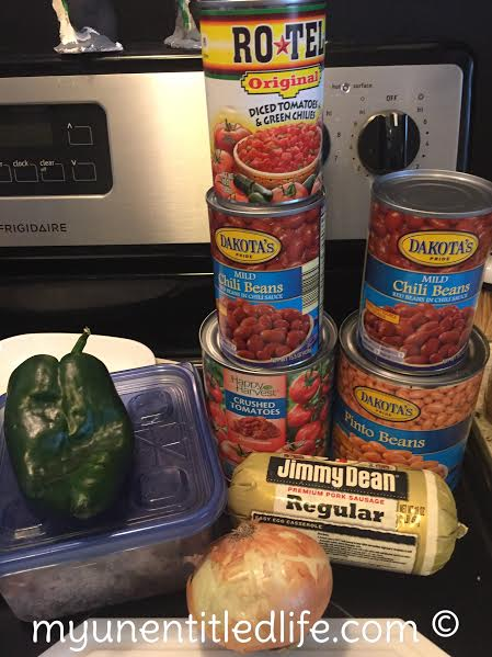 world famous chili recipe ingredients