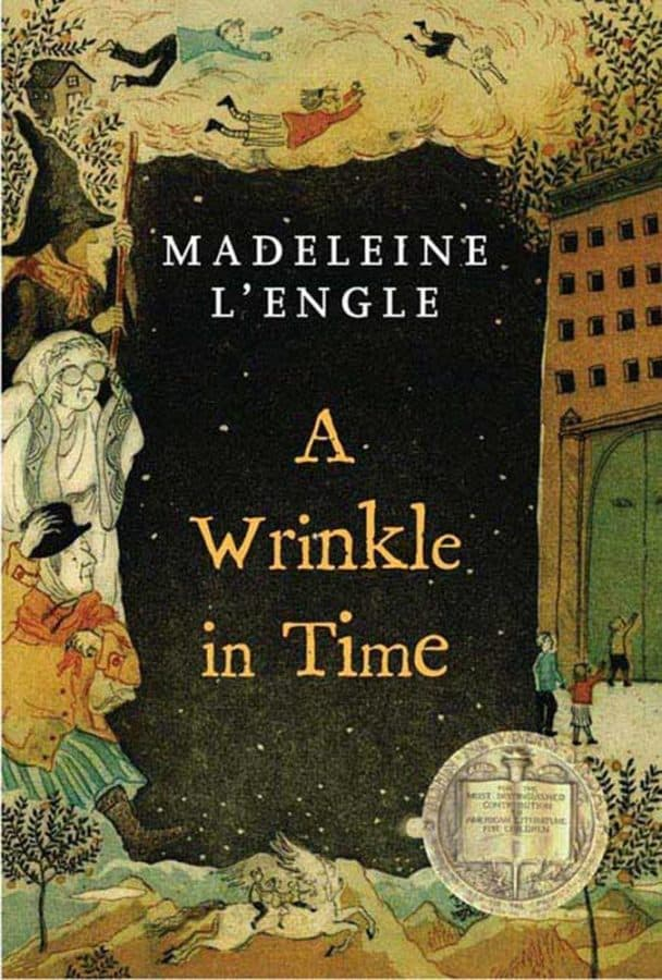 wrinkle in time book by madeleine lengle