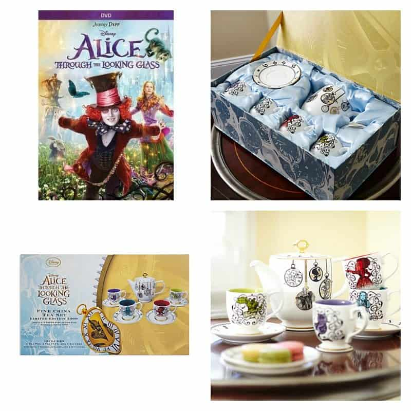 alice tea set
