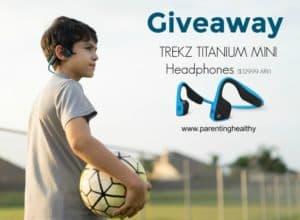 Trekz Titanium Headphones giveaway 11/8 US