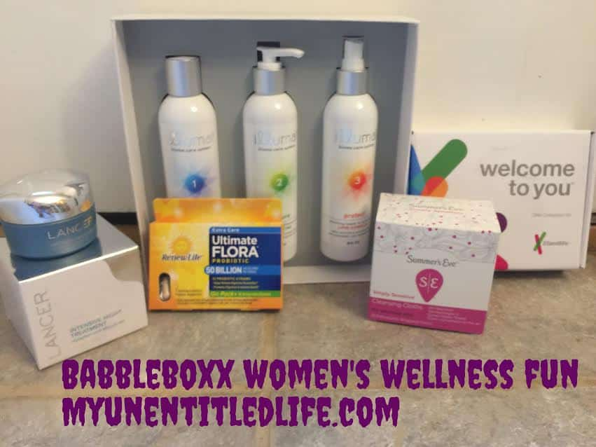babbleboxx unboxing womens wellness