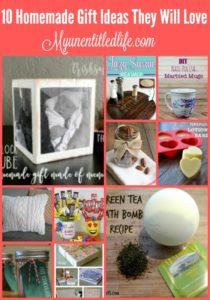 10 Homemade Gift Ideas Everyone Will Love