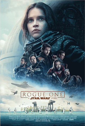 rogue one poster, trailer and release date