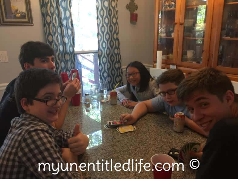 family game times