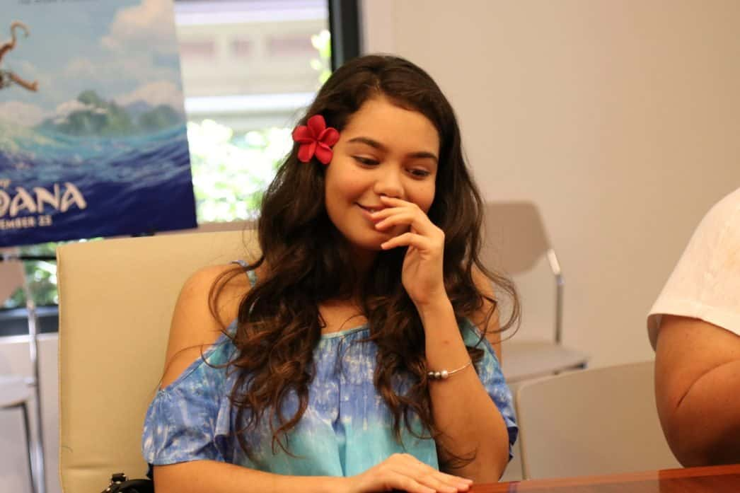 aulii cravalho as moana interview