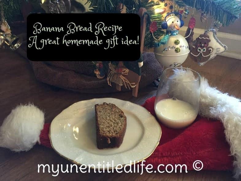 banana bread recipe a great homemade gift idea
