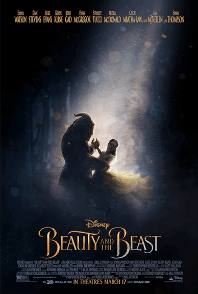 beauty and the beast new poster and trailer and release date
