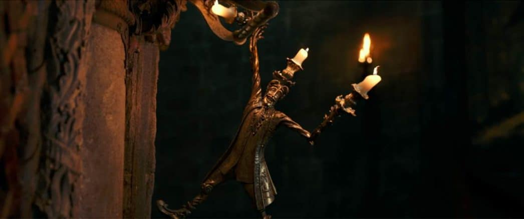 candlestick in beauty and the beast