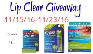 lip clear giveaway