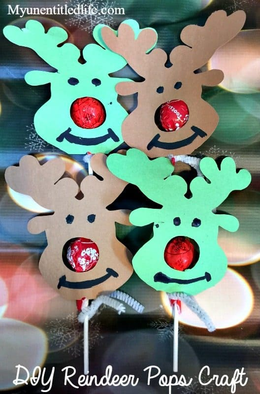 reindeer pops craft