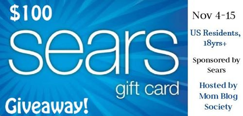 100 sears giveaway