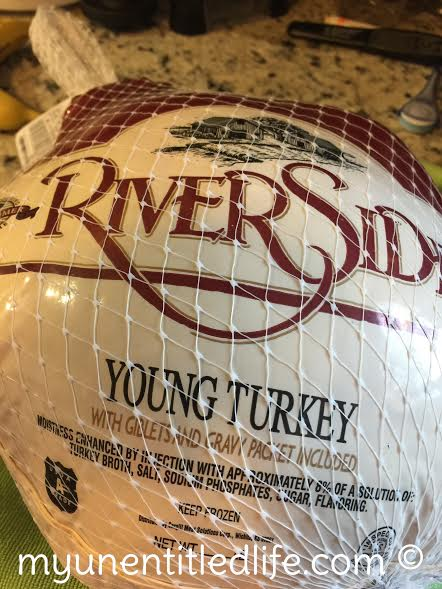 buy your turkey at the store